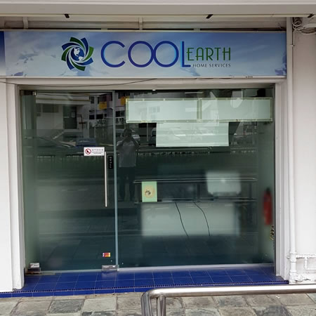 Cool Earth Aircon Services Front Office