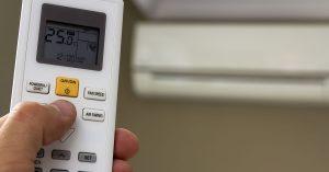 aircon remote control modes